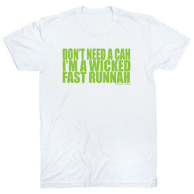 Running Short Sleeve T-Shirt - Wicked Fast Runnah