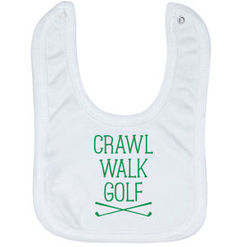 Golf Baby Bib - Crawl Walk Golf