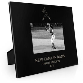 Softball Engraved Picture Frame - Player