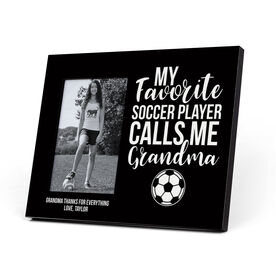 Soccer Photo Frame - Grandma's Favorite Player