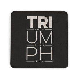 Triathlon Stone Coaster - Triumph Swim Bike Run