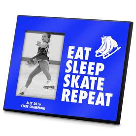 Figure Skating Photo Frame Eat Sleep Skate Repeat