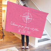 Personalized Premium Blanket - Wherever you go