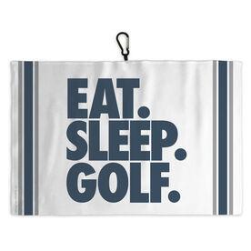 Golf Bag Towel Eat Sleep Golf