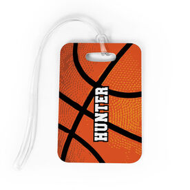 Basketball Bag/Luggage Tag - Personalized Texture