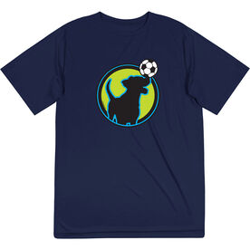Soccer Short Sleeve Tech Tee - Soccer Buddy