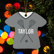 Girls Lacrosse Ornament - That's My Jersey