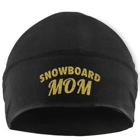 Snowboarding Beanie Performance Hat - Snowboard Mom