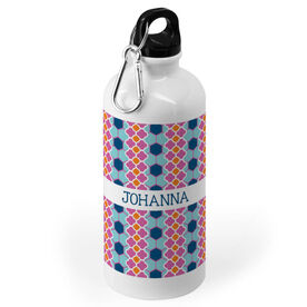 Soccer 20 oz. Stainless Steel Water Bottle - Preppy Soccer Pattern
