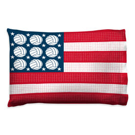 Volleyball Pillowcase - Patriotic