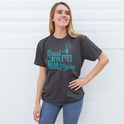 Gymnastics Short Sleeve T-Shirt - Real Athletes Wear Leos