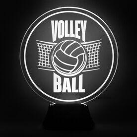 Volleyball Acrylic LED Lamp Net