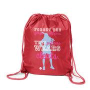 Softball Sport Pack Cinch Sack This Princess Wears Cleats