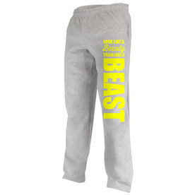 Wrestling Fleece Sweatpants Look Like A Beauty Train Like A Beast
