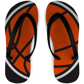 Basketball Flip Flops Split