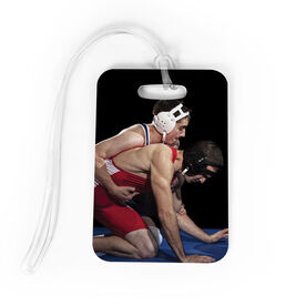 Wrestling Bag/Luggage Tag - Custom Photo