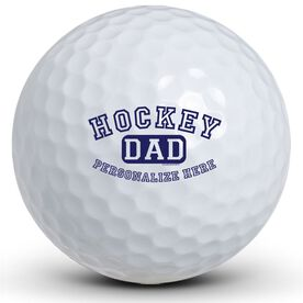 Hockey Dad (Block Logo) Golf Balls