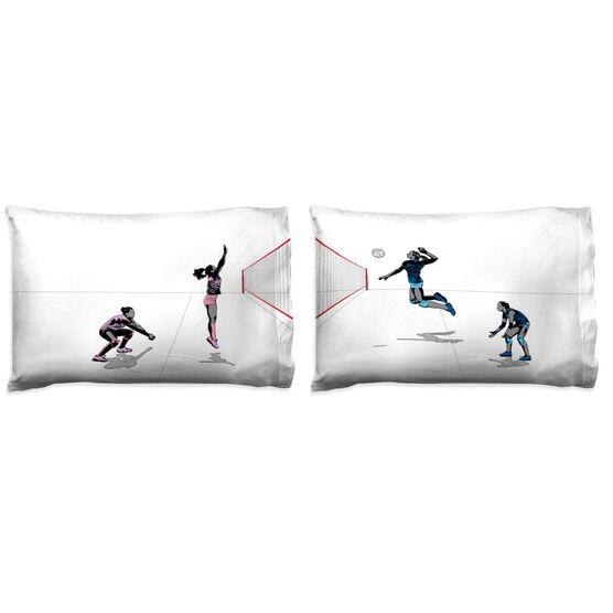 Volleyball Pillowcase Set - Spike It