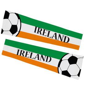 Soccer Printed Arm Sleeves - Soccer Ireland