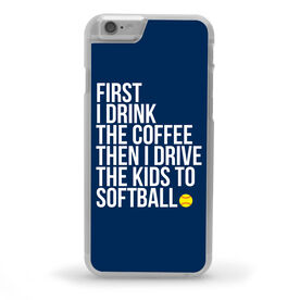 Softball iPhone® Case - Then I Drive The Kids To Softball