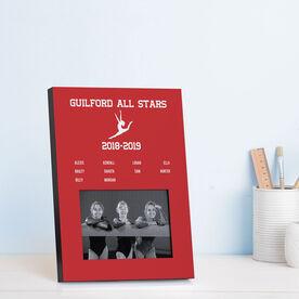 Gymnastics Photo Frame - Team Roster