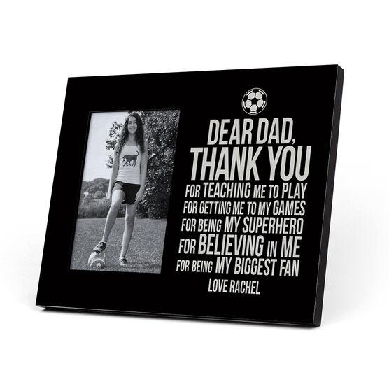 Soccer Photo Frame - Dear Dad