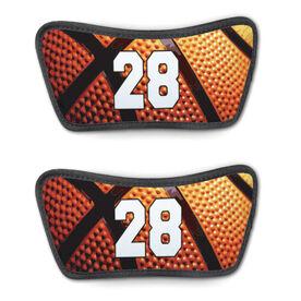 Basketball Repwell™ Sandal Straps - Custom Basketball Number