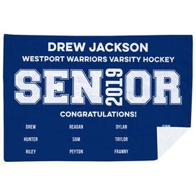 Personalized Premium Blanket - Senior Graduation Gift Roster