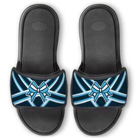 Cheerleading Repwell® Slide Sandals - Cheer Bow