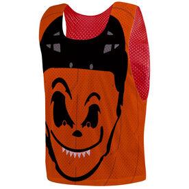 Hockey Pinnie - Pumpkin Face