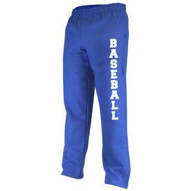 Baseball Fleece Sweatpants