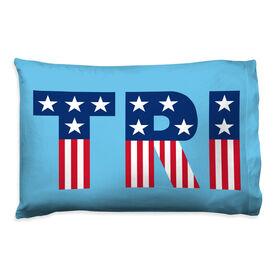 Triathlon Pillowcase - Patriotic