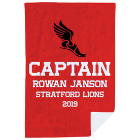 Cross Country Premium Blanket - Personalized Captain