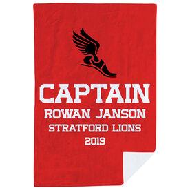 Cross Country Premium Blanket - Personalized Captain