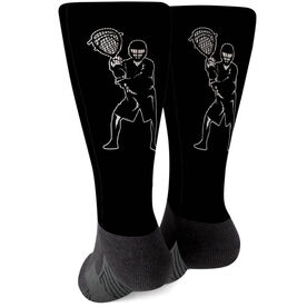 Guys Lacrosse Printed Mid-Calf Socks - Goalie