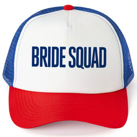 Personalized Trucker Hat - Bride Squad