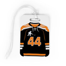 Hockey Bag/Luggage Tag - Personalized Hockey Jersey