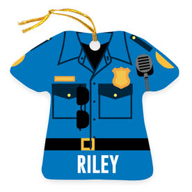 Personalized Ornament - Police Outfit