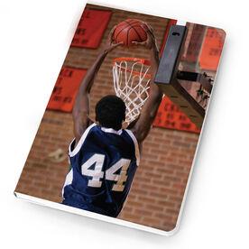 Basketball Notebook Custom Photo