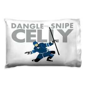 Hockey Pillowcase - Dangle Snipe Celly