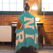 Football Premium Blanket - Personalized Senior
