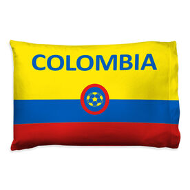 Soccer Pillowcase - Colombia