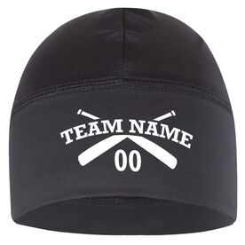 Beanie Performance Hat - Softball Team Name With Number