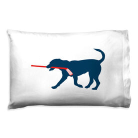 Hockey Pillowcase - Howe The Hockey Dog