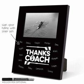 Crew Photo Frame - Thanks Coach