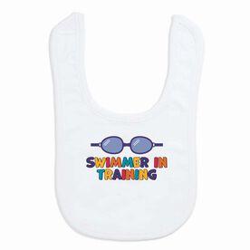 Swimming Baby Bib - Swimmer in Training