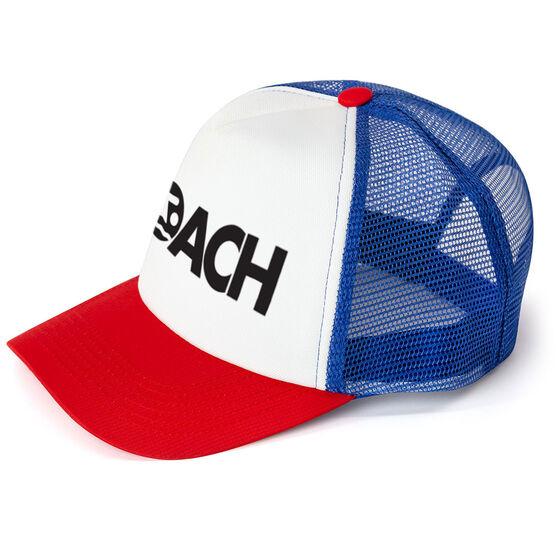 Swimming Trucker Hat - Coach
