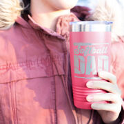 Softball 20 oz. Double Insulated Tumbler - Dad