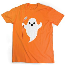 Hockey Tshirt Short Sleeve Hockey Ghost