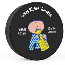 Personalized The Baby Boys Stanley Sippy Cup Hockey Puck